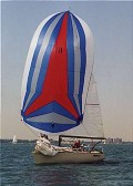 Creative with mast head spinnaker