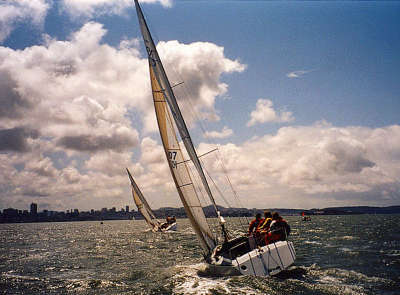 Deeds' Lorax; '01 Resin Regatta (Photo by Terry White)