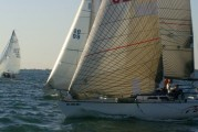 Das Boot #62 & Evolution #99 Start of N. Channel Race
