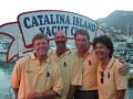 Salty Hotel crew at the Catalina YC reception