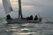 Das Boot 3rd BYC N. Channel Race Oct 2009