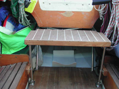 Partial Magic - New Companionway Step