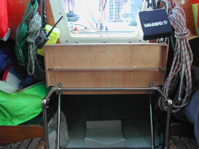 Partial Magic - New Companionway Step Up