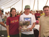 Sarah & Paul Deeds and Dan Nikesch E27 Great Lakes Champions